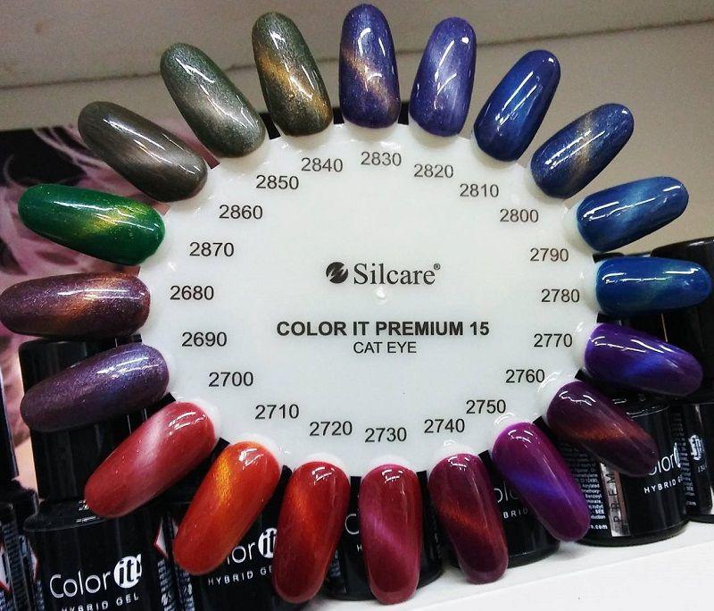 1570 Hybryda Silcare Premium Cat Eye Magnetic