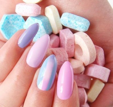 5639 1 Neonail Neo Nail Blue Cream Jelly Pastel Delicious By Joanna