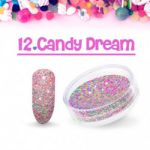12 candy dream  sugar efekt szronu frost matowy matu do wcierania