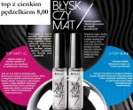 topcoat shine z cienkim pędzelkiem silcare nailart top coat