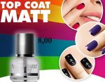 topcoat matte matowy 15 ml matujący top coat