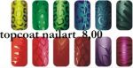 topcoat nailart 10ml silcare top coat