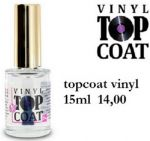 topcoat vinyl 15ml nabłyszczacz top coat