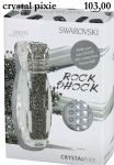 SWAROVSKI crystal PIXIE rock shock zestaw blackpiatek