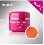 pixel neon 26 Burning Orange base one żel kolorowy gel kolor SILCARE 5 g