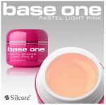 pastel 8 Light Pink base one żel kolorowy gel kolor SILCARE 5 g