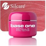 metallic 29 Pink Nectar base one żel kolorowy gel kolor SILCARE 5 g
