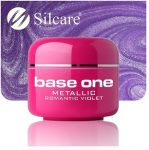 metallic 42 Romantic Violet base one żel kolorowy gel kolor SILCARE 5 g