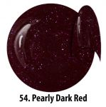 54 Pearly Dark Red żel kolorowy NTN 5g 5ml new technology nails