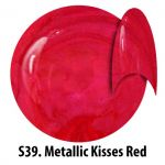 S39 Metallic Kisses Red żel kolorowy NTN 5g 5ml new technology nails blackpiatek