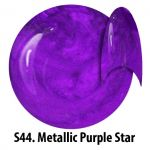 S44 Metallic Purple Star żel kolorowy NTN 5g 5ml new technology nails
