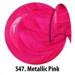 S47 Metallic Pink żel kolorowy NTN 5g 5ml new technology nails