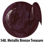 S48 Metallic Bronze Treasure żel kolorowy NTN 5g 5ml new technology nails