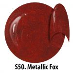 S50 Metallic Fox żel kolorowy NTN 5g 5ml new technology nails