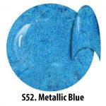 S52 Metallic Blue żel kolorowy NTN 5g 5ml new technology nails