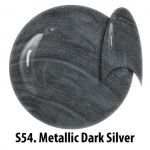 S54 Metallic Dark Silver żel kolorowy NTN 5g 5ml new technology nails