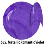 S55 Metallic Romantic Violet żel kolorowy NTN 5g 5ml new technology nails