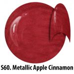 S60 Metallic Apple Cinnamon żel kolorowy NTN 5g 5ml new technology nails