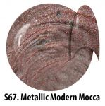 S67 Metallic Modern Mocca żel kolorowy NTN 5g 5ml new technology nails