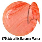 S70 Metallic Bahama Mama żel kolorowy NTN 5g 5ml new technology nails