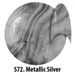 S72 Metallic Silver żel kolorowy NTN 5g 5ml new technology nails