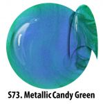S73 Metallic Candy Green żel kolorowy NTN 5g 5ml new technology nails