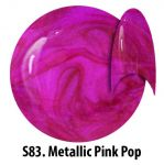 S83 Metallic Pink Pop żel kolorowy NTN 5g 5ml new technology nails