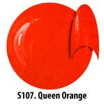 S107 Queen Orange żel kolorowy NTN 5g 5ml new technology nails glass