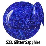 S23 Glitter Sapphire żel kolorowy NTN 5g 5ml new technology nails