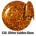 S20 Glitter Golden Glove żel kolorowy NTN 5g 5ml new technology nails