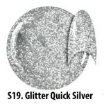 S19 Glitter Quick Silver żel kolorowy NTN 5g 5ml new technology nails