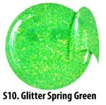 S10 Glitter Spring Green żel kolorowy NTN 5g 5ml new technology nails