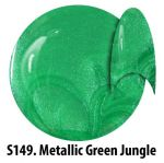 S149 Metallic Green Jungle żel kolorowy NTN 5g 5ml new technology nails