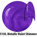 S150 Metallic Violet Shimmer żel kolorowy NTN 5g 5ml new technology nails