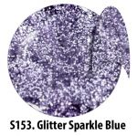 S153 Glitter Sparkle Blue żel kolorowy NTN 5g 5ml new technology nails