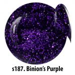 S187 Binion's Purple żel kolorowy NTN 5g 5ml new technology nails