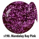 S190 Mandalay Bay Pink żel kolorowy NTN 5g 5ml new technology nails