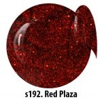 S192 = las vegas 10 Red Plaza żel kolorowy NTN 5g 5ml new technology nails