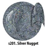 S201 Silver Nugget żel kolorowy NTN 5g 5ml new technology nails