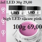 żel UV high light LED Silcare 100g pink