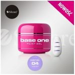 04 Violet paint żel base one gęsty kolorowy gel 5g 5ml