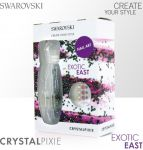 SWAROVSKI crystal PIXIE exotic east zestaw blackpiatek