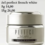 żel perfect french white 5 g silcare biały french