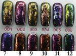 01 MARMUREK CHROME FLAKES russian gold KAMELEON POLARIS pyłek do wcierania efekt chameleon out of sp
