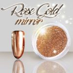 ROSE GOLD MIRROR do wcierania