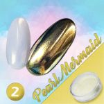 02 PEARL MERMAID efekt pyłek do wcierania perłowy puder powder