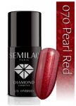 070 Pearl Red SEMILAC 7ml