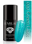 020 Green Glass SEMILAC 7ml
