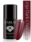 030 Dark Chocolate SEMILAC 7ml