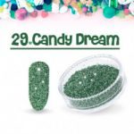 29 candy dream  sugar efekt szronu frost matowy matu do wcierania